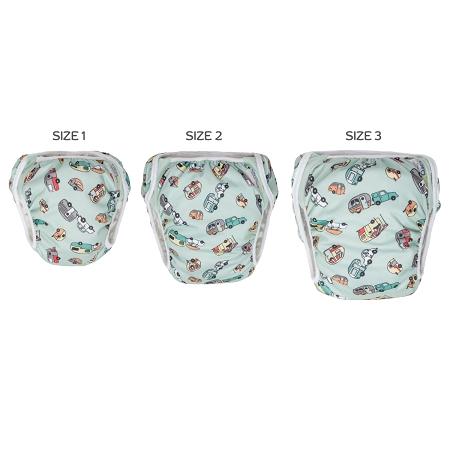 how to make a cloth swim diaper