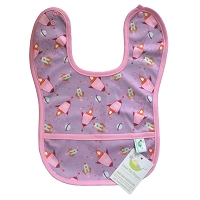Sweet Pea Bib- FINAL SALE