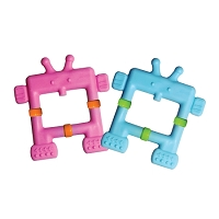 INNO BABY TEETHIN' SMART EZ GRIP TEETHER ROBOT