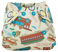 My Sweet Pickles Exclusive - Smart Bottoms Born Smart Newborn Diaper - My Sweet Caboose