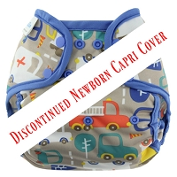 Blueberry Capri Cover - Snaps Size Newborn - DISCONTINUED