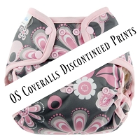 Blueberry One-Size Coveralls Snaps - DISCONTINUED PRINTS