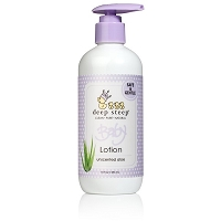 Deep Steep Baby Lotion- Unscented Aloe 10 oz