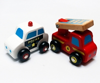 Lil' Toyz - My First Emergency Vehicles - 2 Pack