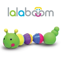 Lalaboom Caterpillar from Fat Brain Toys