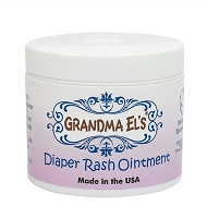 Grandma El's Diaper Rash Ointment - 2oz tube and 3.75oz tub