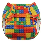 My Sweet Pickles Exclusive - Blueberry  Organic Simplex One Size All in One Diaper AWESOME