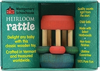 Heirloom Mini Bead Rattle by Maple Landmark Toys