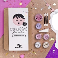 No Nasties Nala Deluxe Pretty Play Makeup - Pink Box