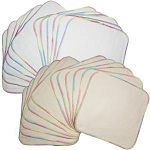 OsoCozy Terry Flannel Wipes - 12-pack (Bleached)