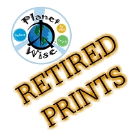 Planet Wise Retired Prints - All Styles - FINAL SALE NO RETURNS