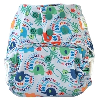 Sweet Pea One Size Bamboo All-in-One Diaper
