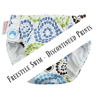 Blueberry Freestyle Swim Diaper - Discontinued Prints.