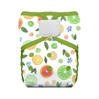 Thirsties Natural One Size Pocket Diaper - Hook and Loop Closure