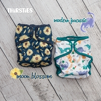 Thirsties Limited Edition Prints Moon Blossom OR Modern Jurassic
