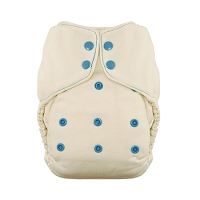 Thirsties Natural Fiber One-Size Fitted Diaper