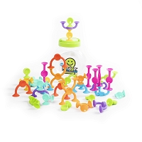 Squigz 2.0 from Fat Brain Toys - 36 piece set