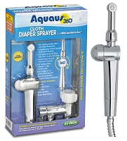 Aquaus 360° Diaper Sprayer – NSF Certified – 3 Year Warranty