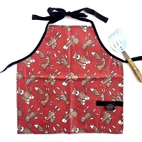 Kids Aprons from Splash Fabric
