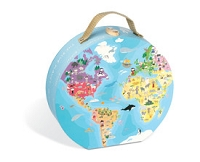 Janod Hat Box Puzzle - Our Blue Planet