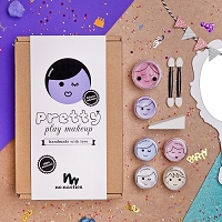 No Nasties Nancy Deluxe Pretty Play Makeup - Purple Box