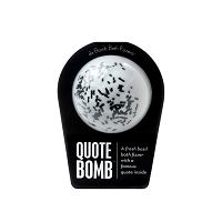 Da BOMB Bath Fizzlers - Quote Bomb