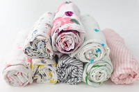 Saranoni Bamboo Muslin Swaddles - Single Swaddle