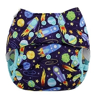 Blueberry Capri Cover - Snaps One Size NEW VERSION!