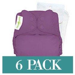 bumGenius Original One-Size Cloth Diaper 5.0 | 6 Pack