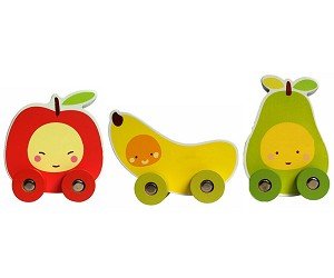 Lil' Toyz - My First Fruit Cars - 3 Pack