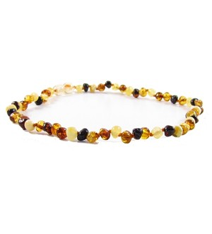 The Amber Monkey 10/11 Inch Necklace