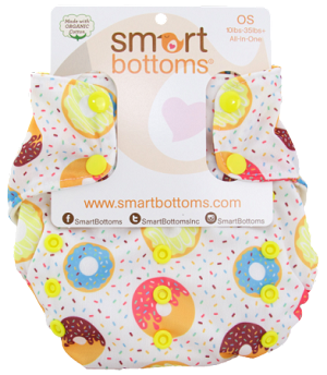 Smart Bottoms One Size All-in-One Dream Diaper 2.0 - NEW AND IMPROVED!