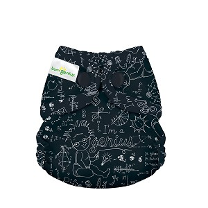 bumGenius Littles 2.0 Newborn All-in-One Diaper USED