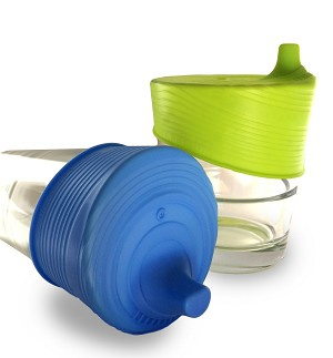 GoSili Universal Silicone Sippy Tops