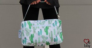Planet Wise Travel Line- Oh Lily Wristlet