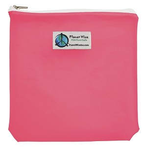 Planet Wise Tinted and Clear Reusable Quart Zipper Bag