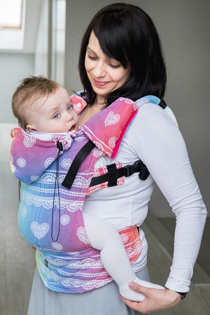 Lenny Lamb FULL WRAP CONVERSION BABY SIZE Ergonomic Carrier