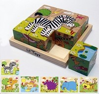 Lil' Toyz - Cube Puzzle - Zoo Animals
