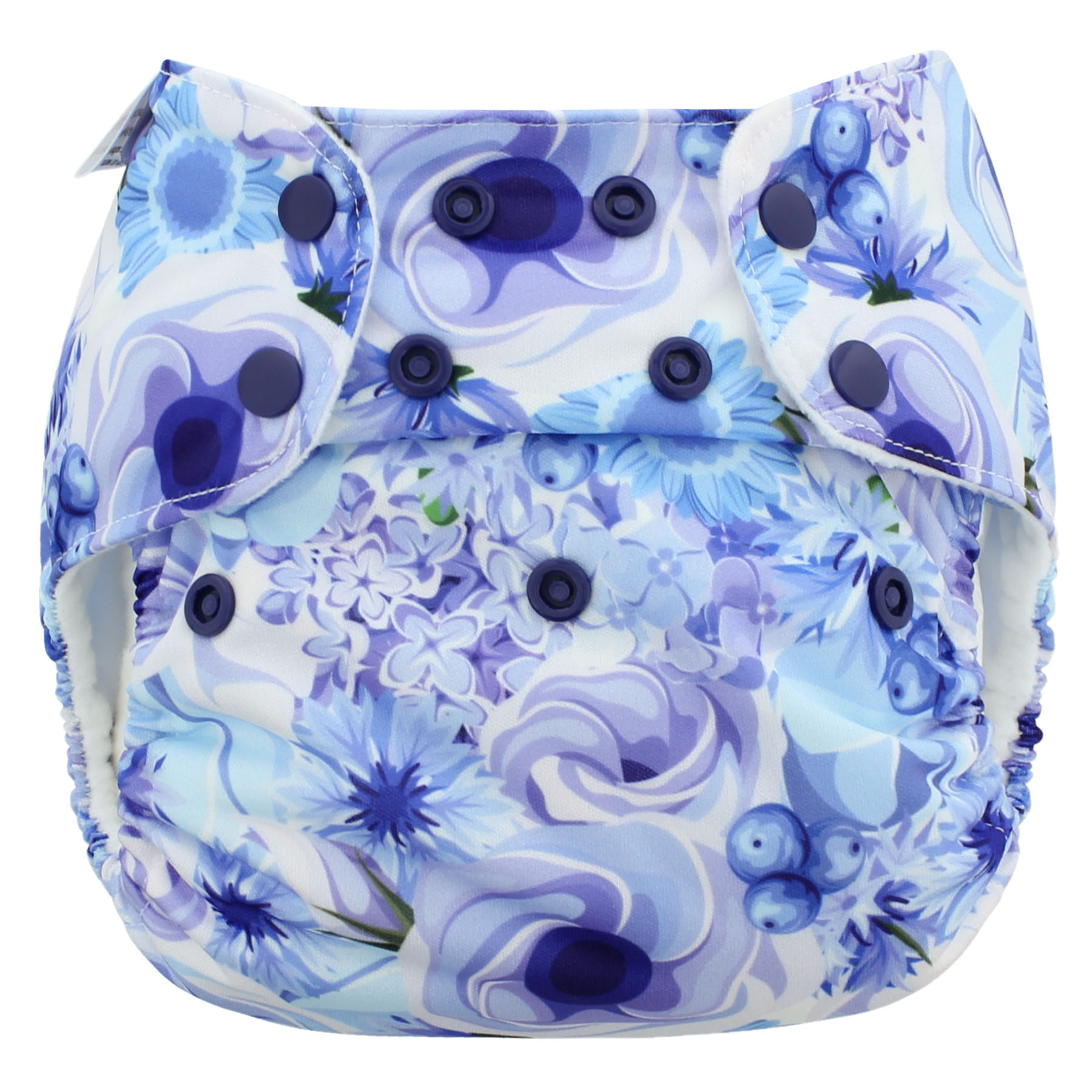 Blueberry Deluxe One Size Pocket Diaper