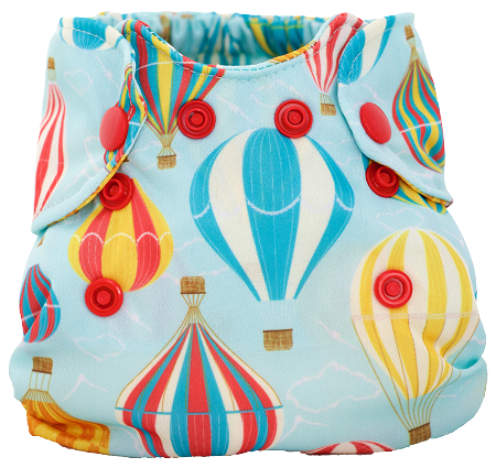 My Sweet Pickles Exclusive - Smart Bottoms Born Smart Newborn Diaper - My Sweet Balloons FINAL SALE NO RETURNS