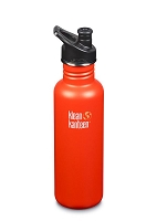 Klean Kanteen 27oz Stainless Steel Water Bottle - Sport Cap