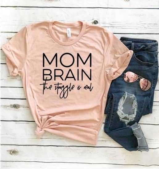 Mom Brain Shirt by FAMSdesign