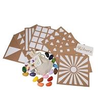 Rubeez Art Box + 16 Colors from Crayon Rocks